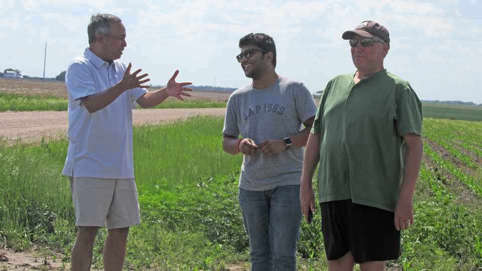A national team led by the University of Nebraska–Lincoln is studying potential links among irrigation, cloud formation and rainfall.