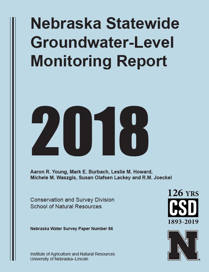 2018 Nebraska Statewide Groundwater-Level Monitoring Report