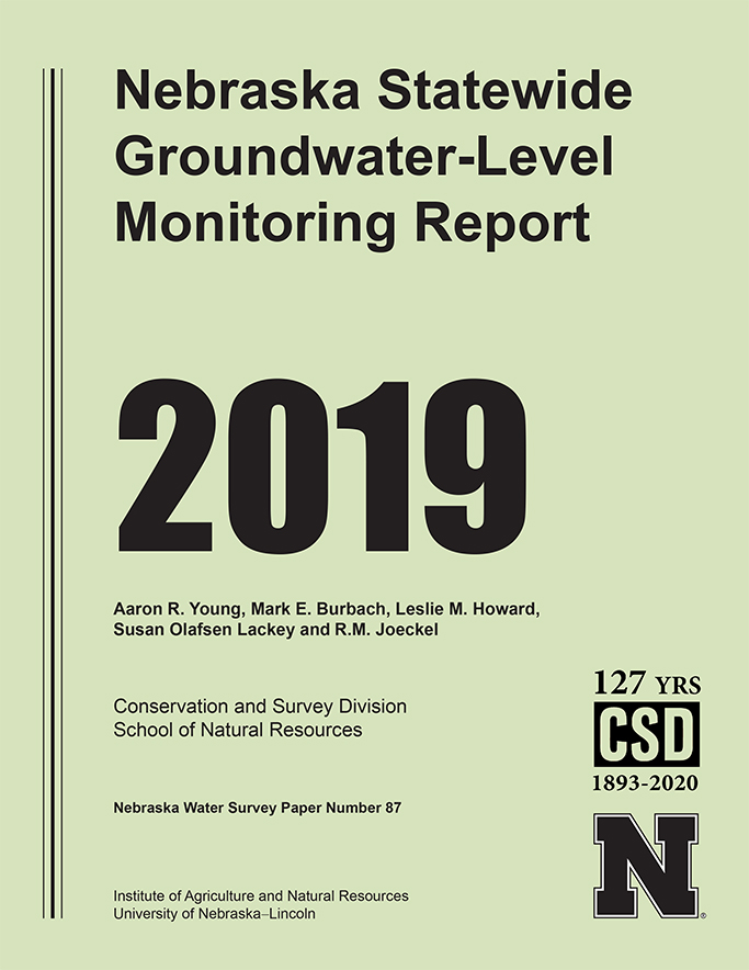 2019 Nebraska Statewide Groundwater-Level Monitoring Report