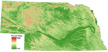 Nebraska Elevation Data Gis Data Snr Unl