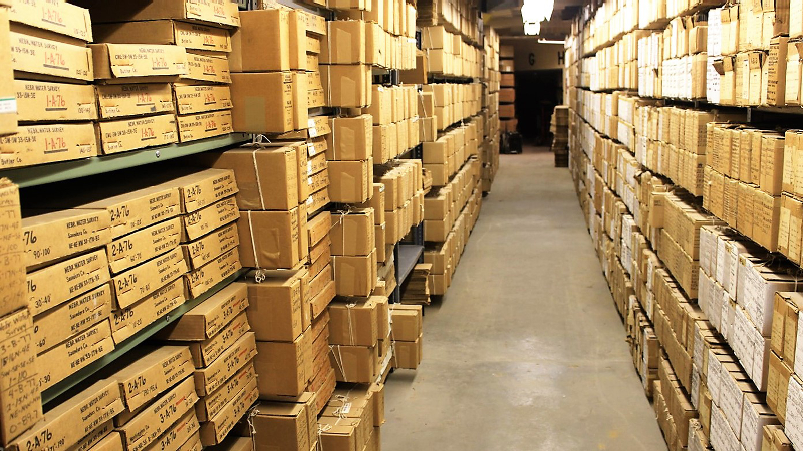 Geological Sample Repository / Core and Cuttings Library | Geology ...
