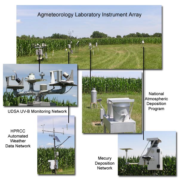 Agmeteorolgoy Lab Instrument Array