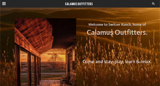 Calamus Outfitters Website