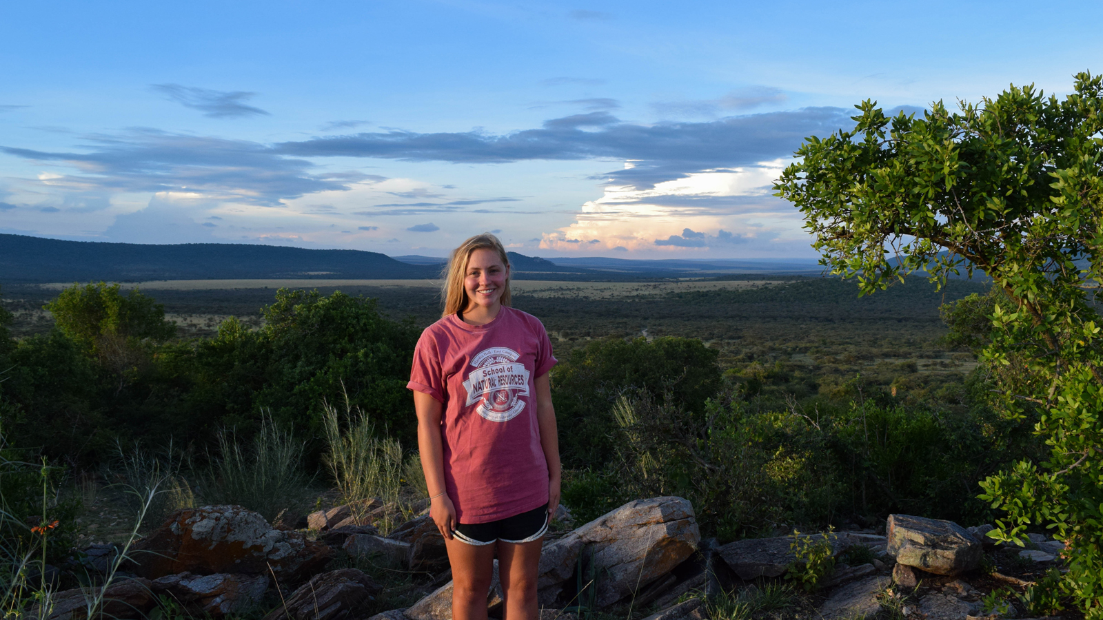 Grace Bullington, senior fisheries and wildlife major, was selected to represent the University of Nebraska-Lincoln and the School of Natural Resources at the Women Wildlife Filmmakers Workshop at the Cocobolo Nature Reserve in Panama this spring.  See the finished video she co-created with Kori Price.