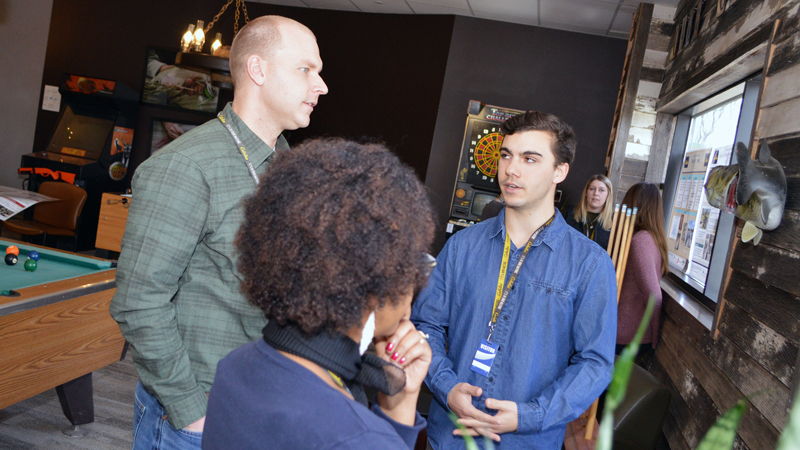 Students present research projects at Cabela's headquarters