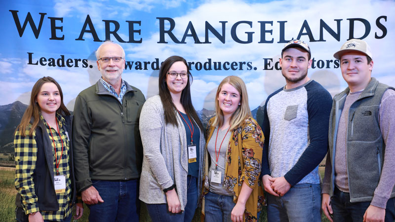 Range Management Club competes at society meeting