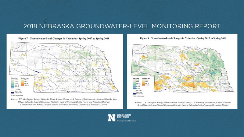 Groundwater levels recover 2012 drought, but still dropping