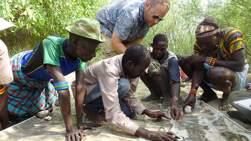 University of Nebraska–Lincoln researcher Matthew Douglass is leading an international, multi-disciplinary team studying the current socio-ecological system of the Daasanach population. Larkin Powell and Yi Qi of SNR are on that team.
