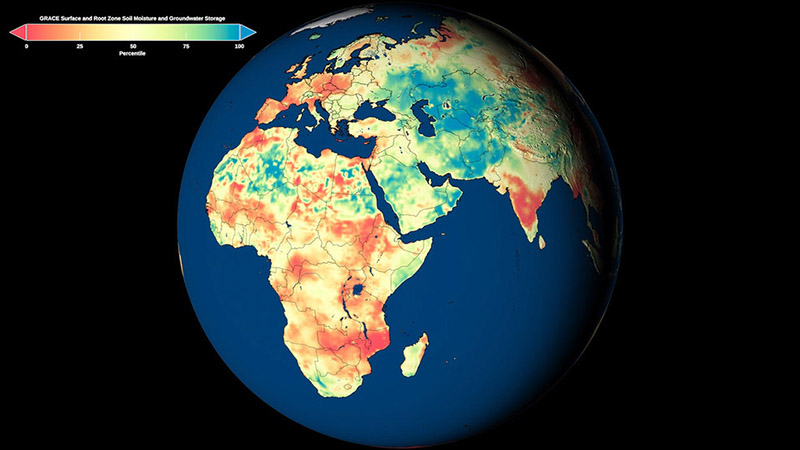 The National Drought Mitigation Center and Center for Advanced Land Management Information Technologies have helped launch first-of-their-kind global drought-monitoring and forecast products utilizing NASA satellite observations.