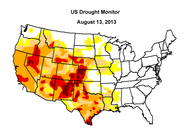 US Drought Monitor.
