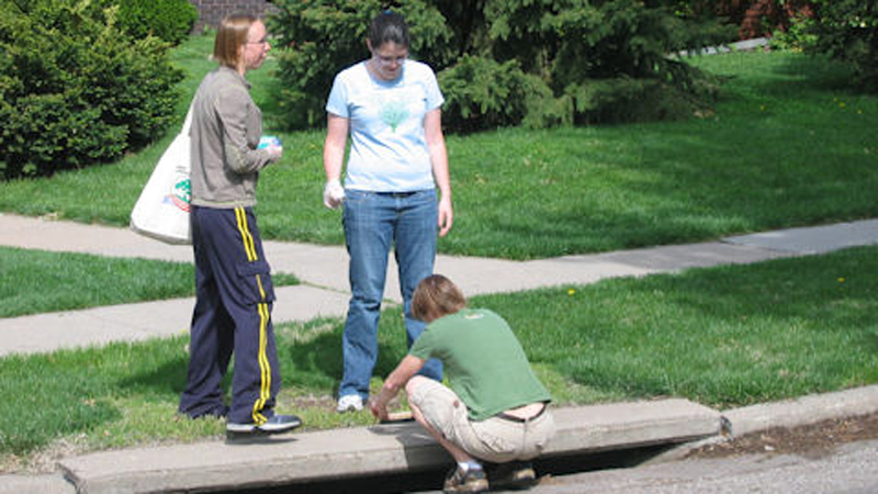 Marking Storm Drains