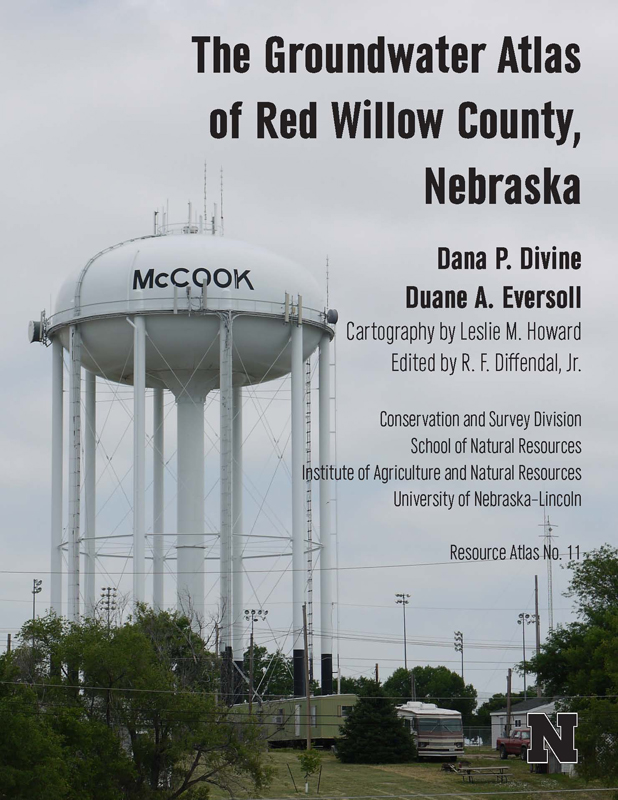 Groundwater Altas Red Willow County