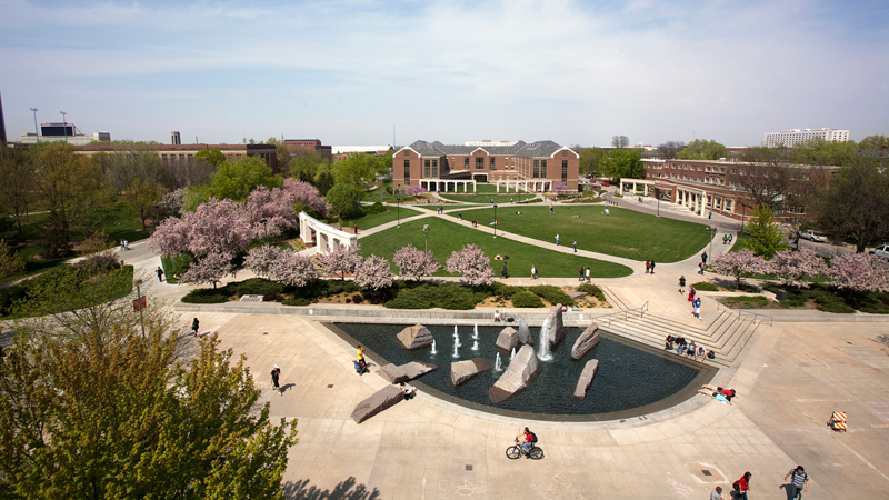 Nebraska Union North Plaza