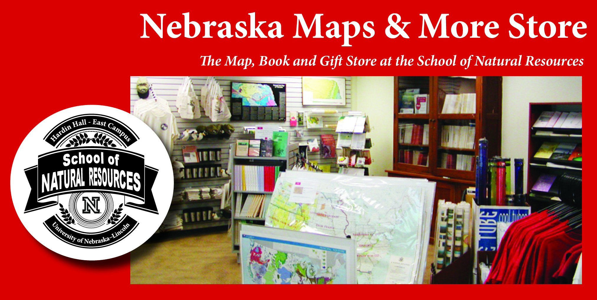 Nebraska Maps and More Store