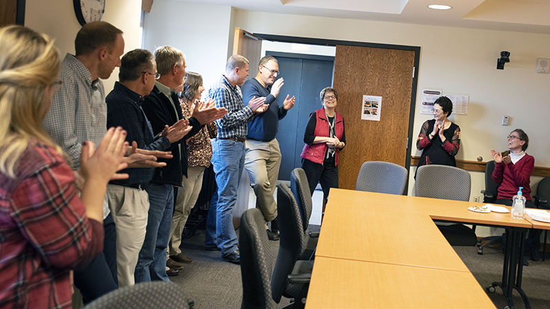 Fiedler retires from the National Drought Mitigation Center