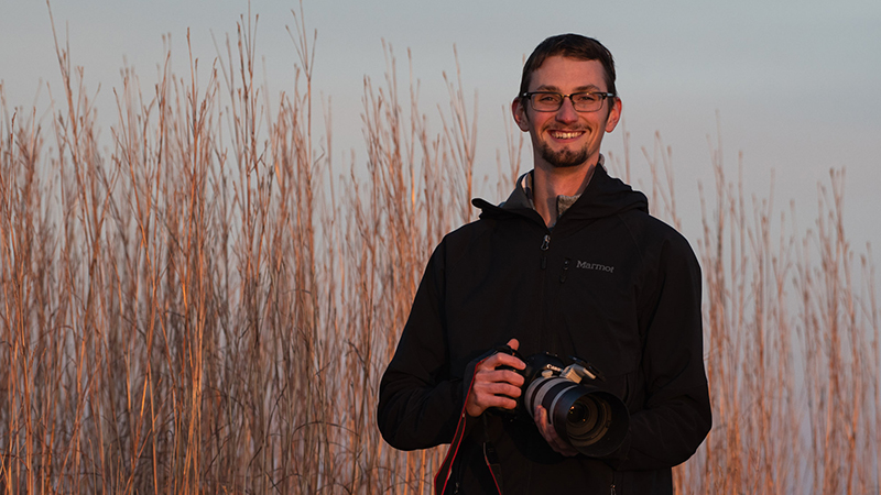 SNR Alumni: Platte Basin Timelapse project continues to inspire Ethan Freese as grad student