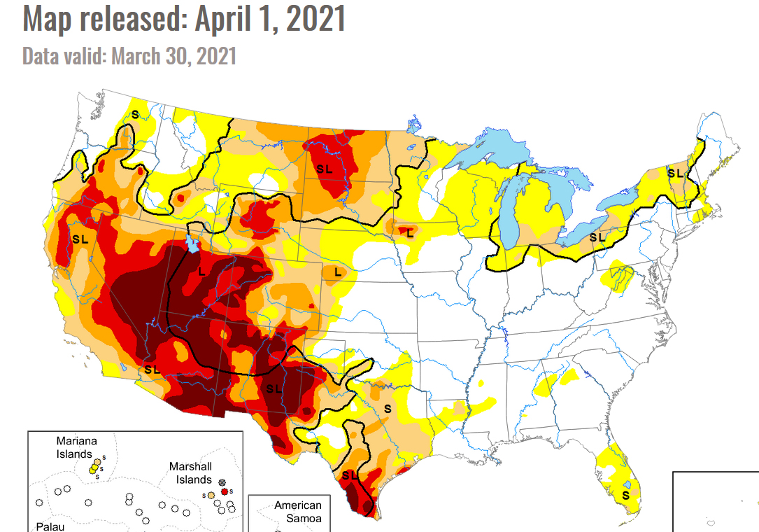 Drought Monitor in the national news