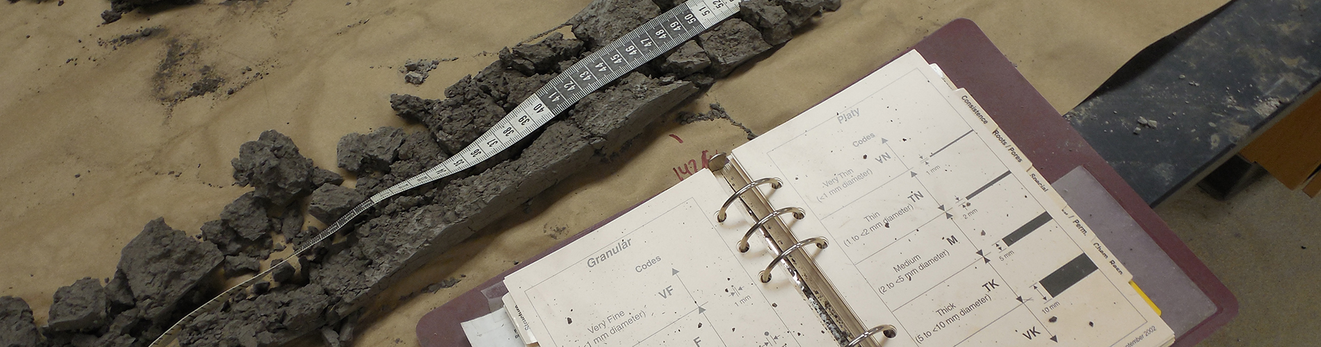Soil Core and Book